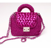 Cross body with puff stitch clasp Video RUS