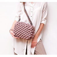 Crossbody bag Bubble Gum  Video RUS/EN