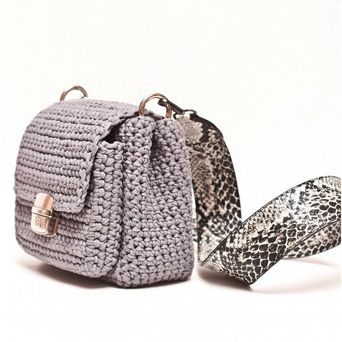 Crossbody bag with pocket Video RUS/EN