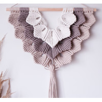 Macrame Sell wall hanging Video RUS