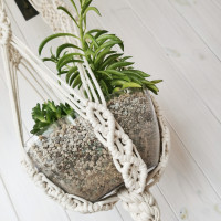 Macrame plant hanging Video RUS