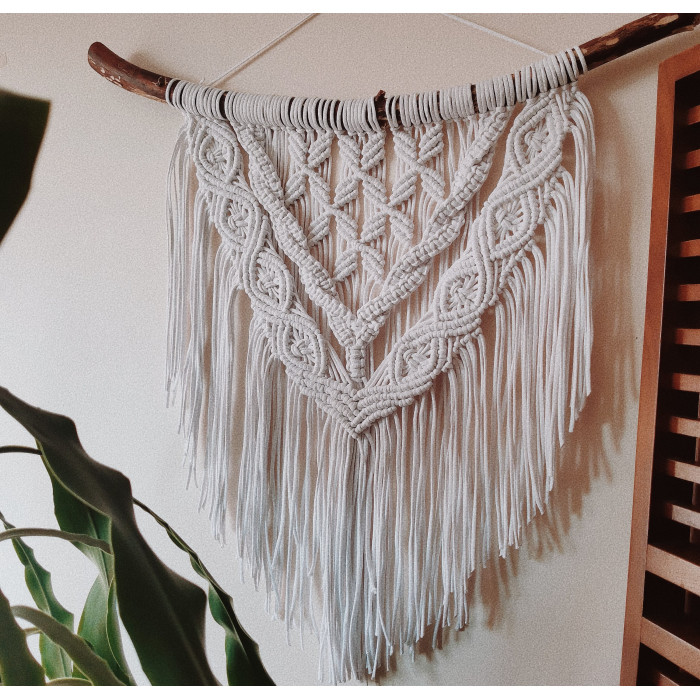 Macrame wall hanging Video RUS