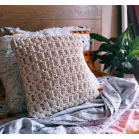 Macrame pillow Video RUS